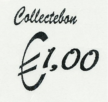 Collectebonnen € 1,00 (per 10)