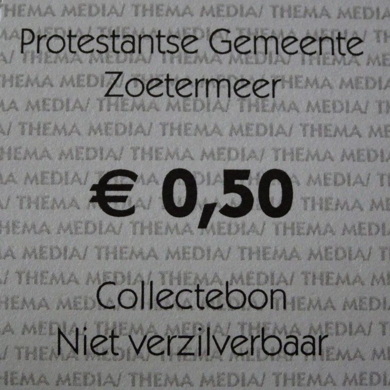 Collectebon 0,50 cent