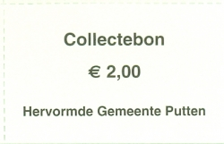 Collectebonnen € 2,00
