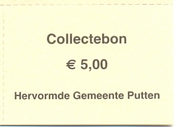 Collectebonnen € 5,00