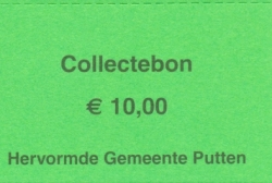 Collectebonnen € 10,00